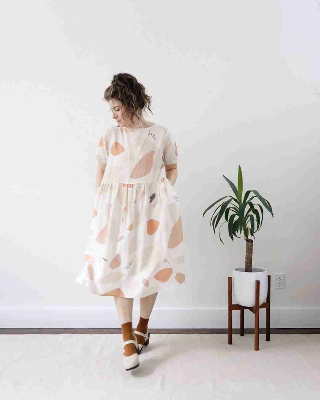 Minimalist Wardrobe Essentials - Printed Summer Dress