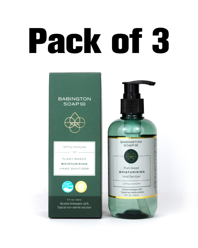2-in-1 plant-based Moisturizer gel with an antibacterial - Uplifting Lemongrass