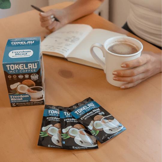 Keto Coffee - Freedom Blend Ingridients
