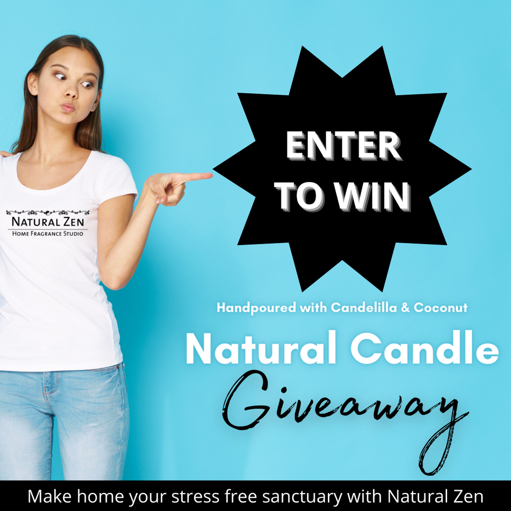 Candelilla and Coconut Candle Giveaway Contest from Natural Zen
