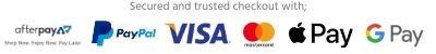 afterpay paypal visa mastercard apple pay google pay