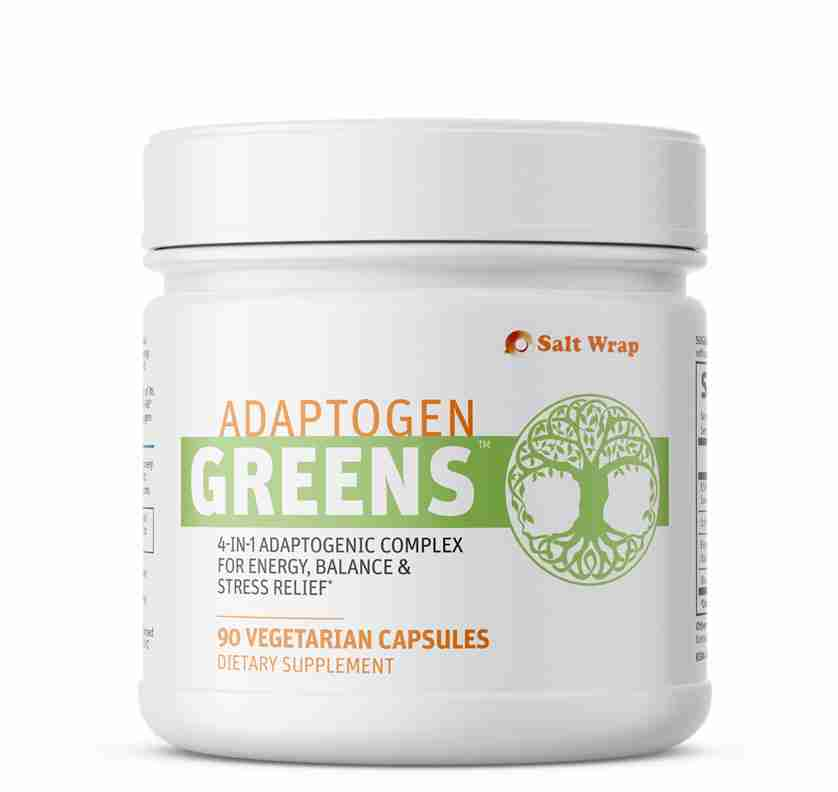 Adaptogen Greens caffeine free energy nootropic