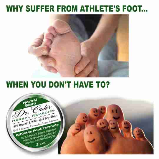 Why suffer from athlete's foot when you don't have to?