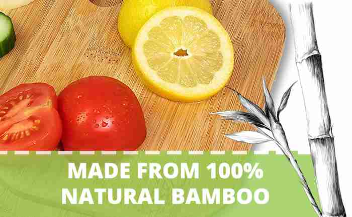 Made from 100% natural bamboo
