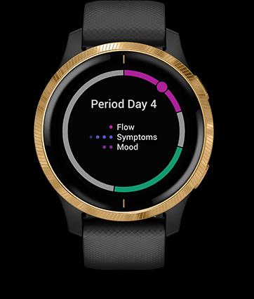 Garmin Venu GPS Smartwatch - Women's Health Tracking