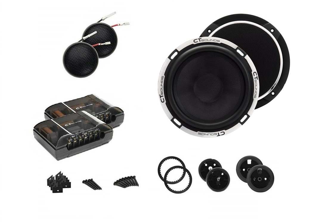 CT Sounds Meso 6.5 Inch Component Speakers