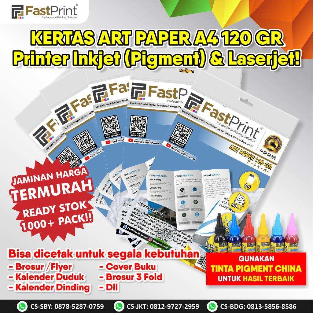 art paper, kertas art paper, ukuran brosur, ukuran flyer