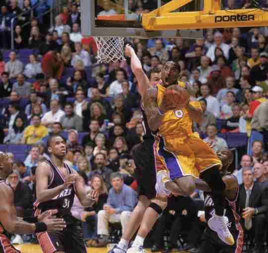 Kobe Bryant in the Reebok Question PE via @SneakerHistory