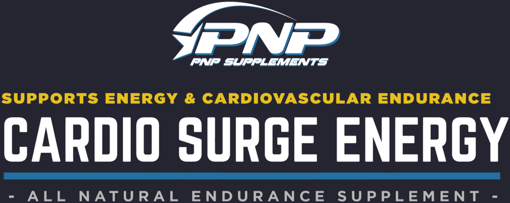 Cardio Surge Energy pre workout for cardio.