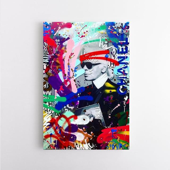 """KARL BRAND GRAFFITI"" by RS Artist"