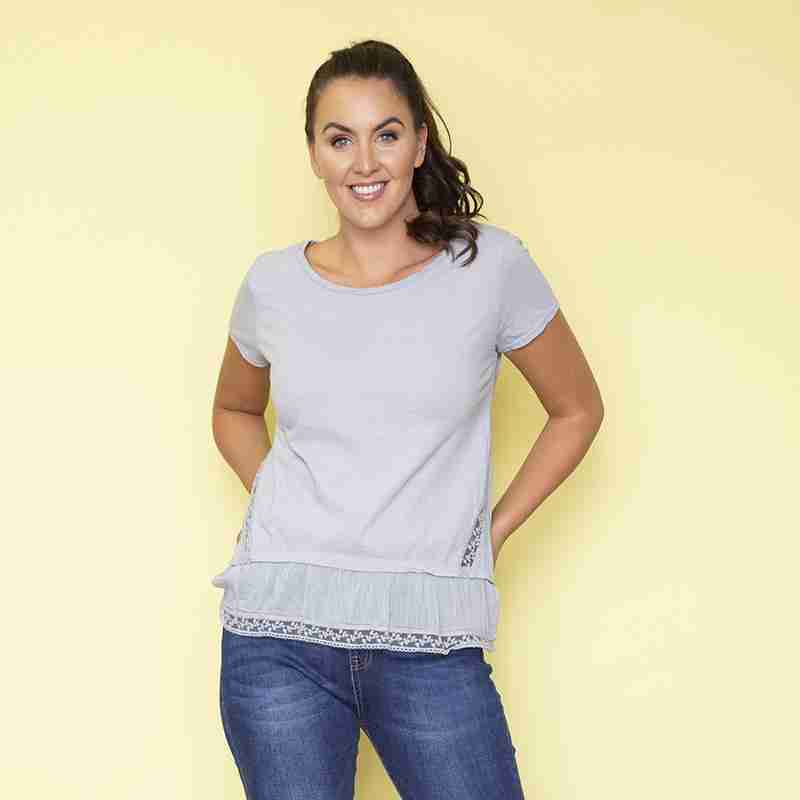 Brooke T-Shirt (Grey)