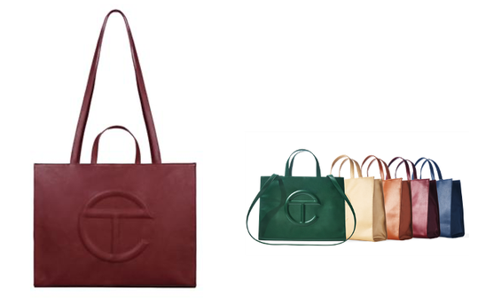 Telfar Bags | AbsoluteJOI Clean Beauty Black Owned Skincare Brand