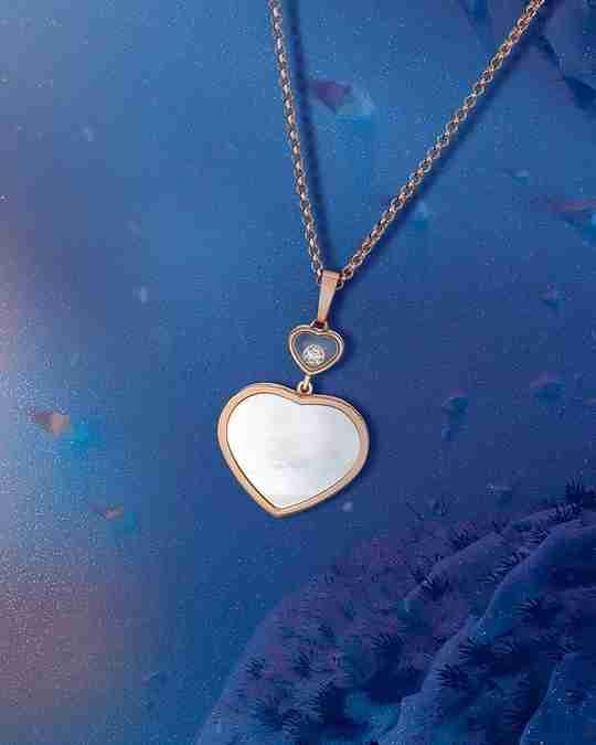 A Happy Diamond pendant by Chopard