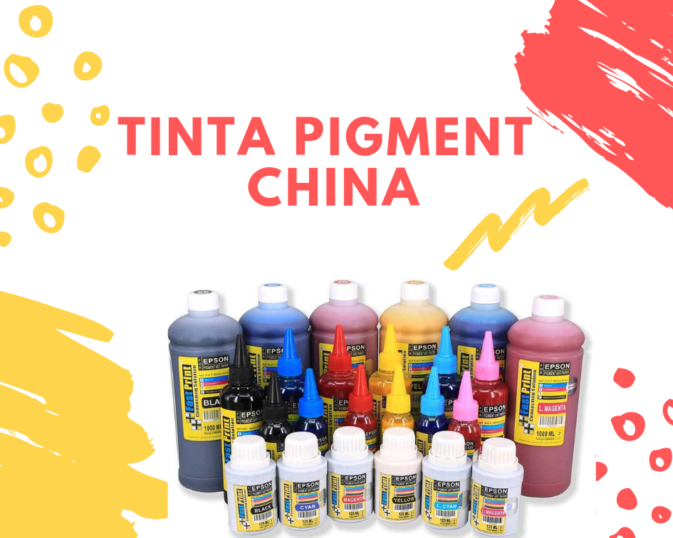 tinta pigment fast print