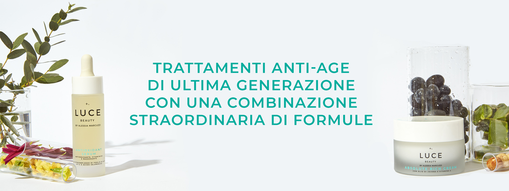 Banner Anti Age - Luce Beauty By Alessia Marcuzzi