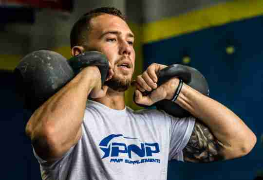 Periodization kettlebell workout for CrossFit