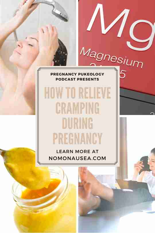 How to relieve cramping during pregnancy