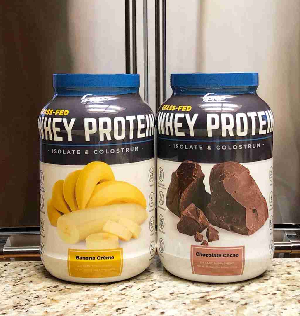 Grass-Fed Whey Protein Isolate and Colostrum