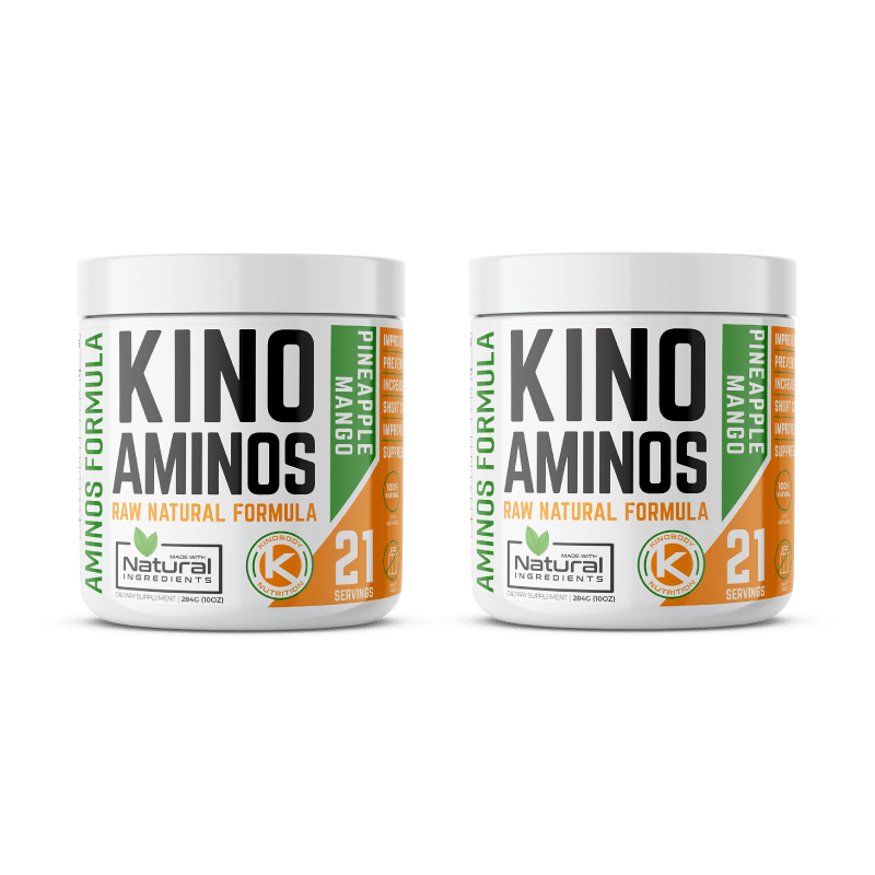 Kino Aminos Pineapple Flavor Two Pack