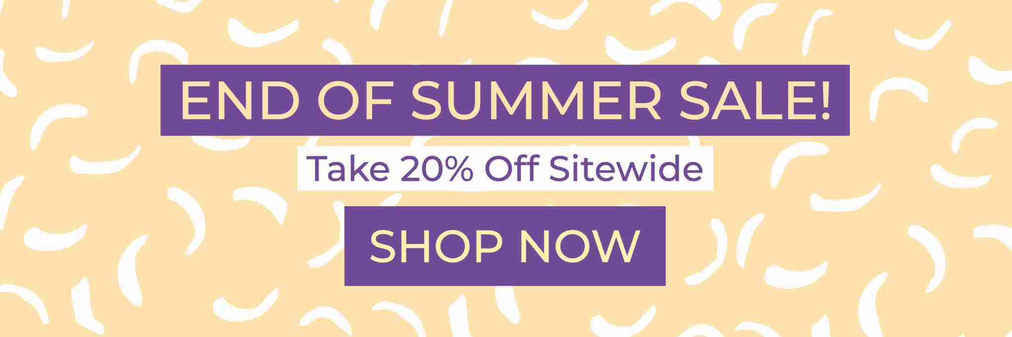 End of Summer 20% off sale - Suzi's Lavender