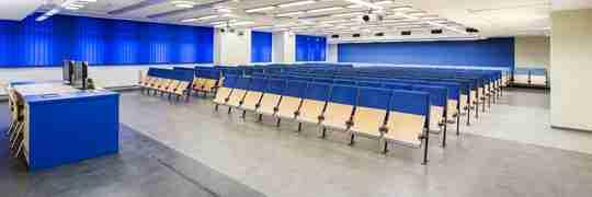Big college spacious lecture halls