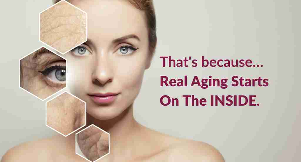 Real Aging Starts On The Inside