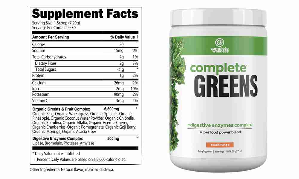 Complete Wellness Greens