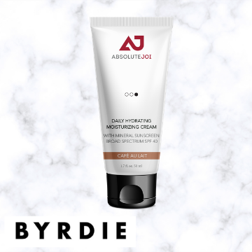 Byrdie | ABSOLUTEJOI | Daily Hydrating Moisurizing Cream