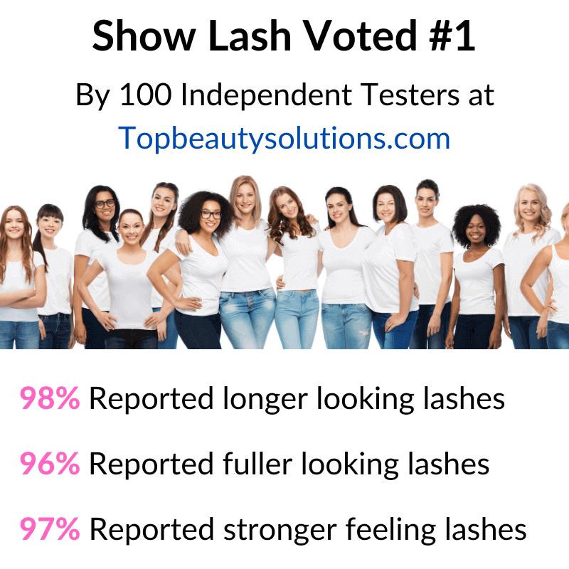 show lash, top beauty solutions, topbeautysolutions.com, eyelash growth serum, lash growth serum, eyelash serum, LeVaye' Cosmetics