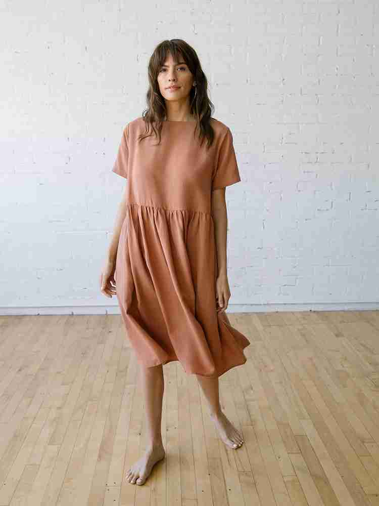 The Perfect Linen Dress - The Nico Dress Cameo