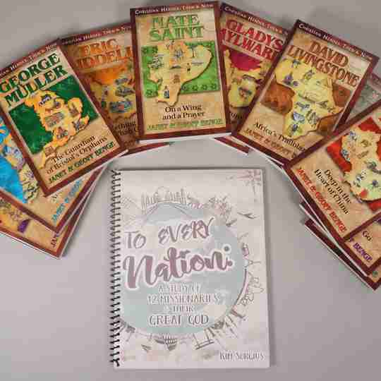 To Every Nation missionary study with books
