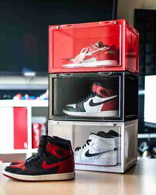 Sneaker Throne Drop Side Shoe Display Boxes