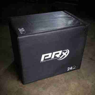 PRx Soft Sided Plyo Box with 3 dimension variations, 20x24x30