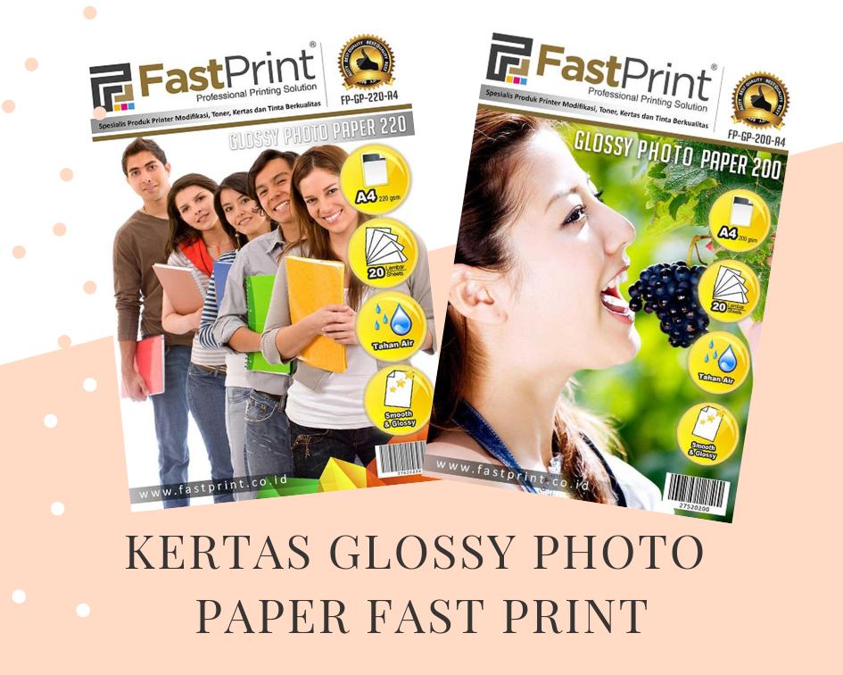 kertas glossy photo paper