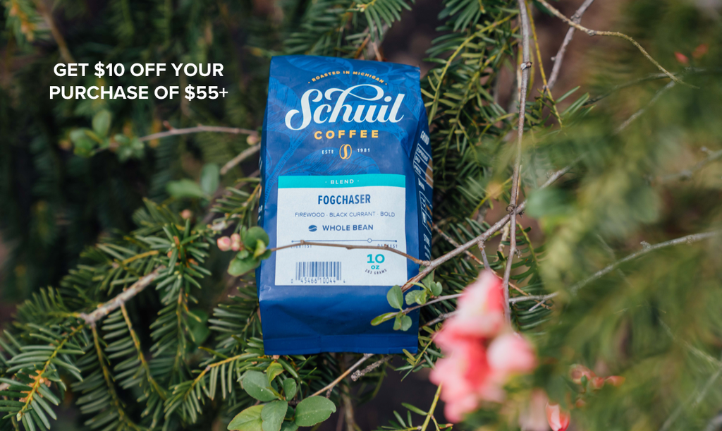 Schuil Coffee $10 off $55 Promotion