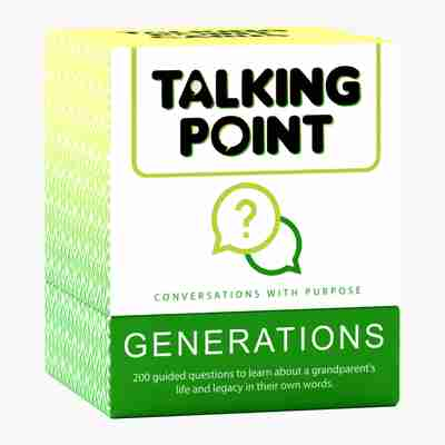 Talking Point Cards: Generations Edition