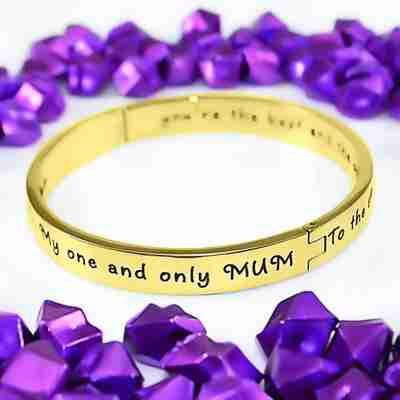 Personalised Bangles and bracelets