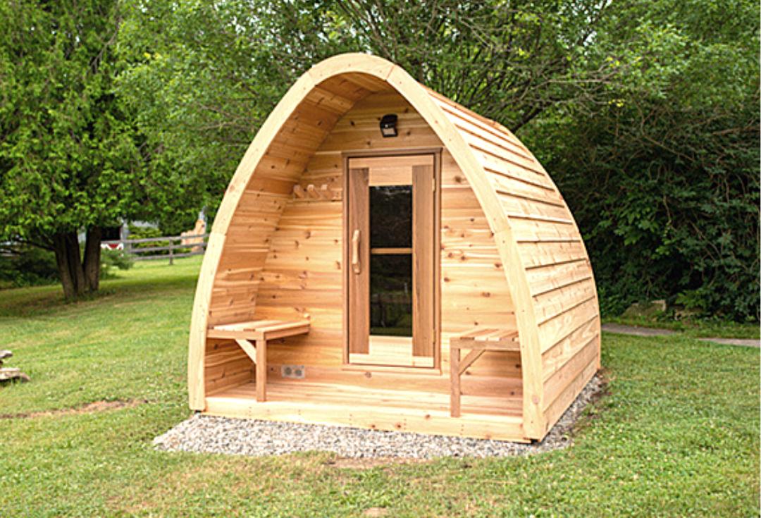 Outdoor Pod Sauna