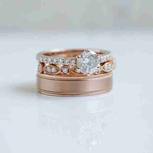 Two stacked Do Amore rings