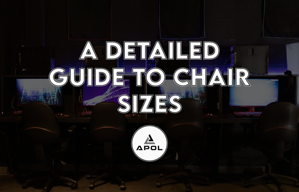 detailed guide to chair sizes banner