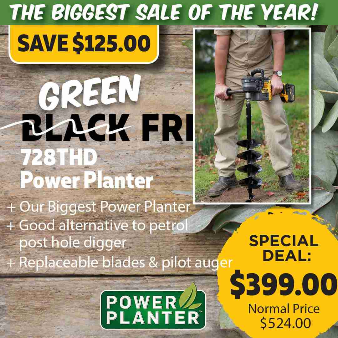 Green Friday Super Deal $524 value for just $399 - The biggest sale of the year.