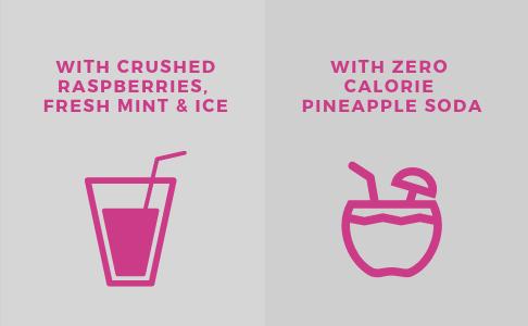 IGNITE KETO ketosis drink mixes easily with smoothies or zero carb soda