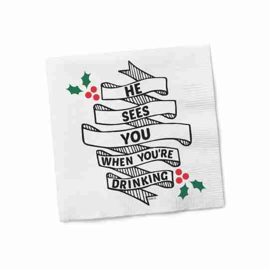 Cocktail Napkins | Twisted Wares