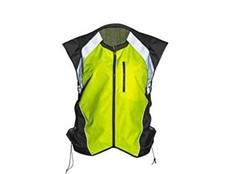 Badass Moto Motorcycle Hi-Viz Vest Yellow