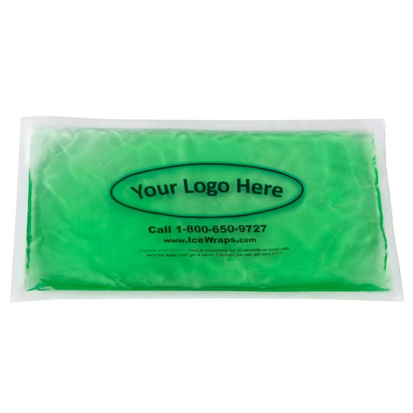 Custom Logo 6x10 Gel Packs Reusable Hot/Cold Pack