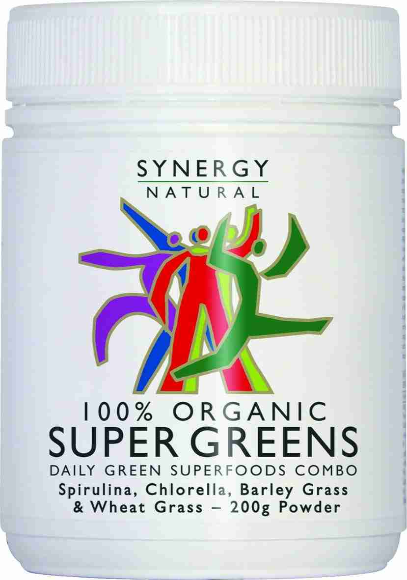 Synergy Natural - 100% Organic Super Greens. For hardcore greens drinkers only