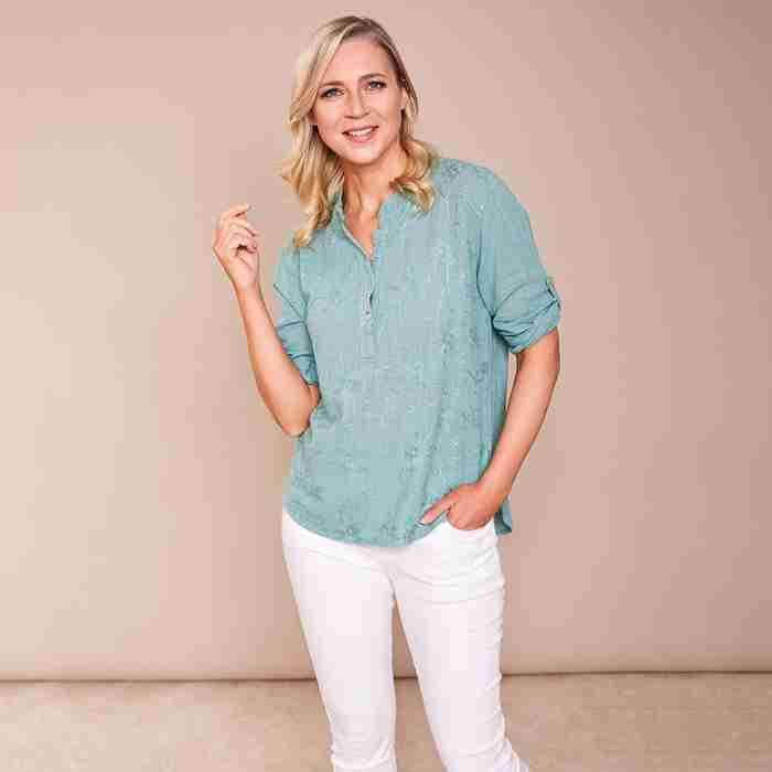 Lily Blouse(Green)