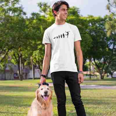 Evolution of Ballet Male Edition Unisex T-Shirt - Adult