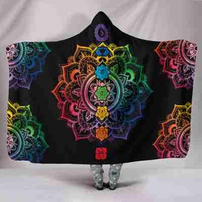 7-Chakra Prosperity Hoodie Blanket!