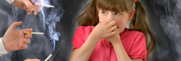 dangers of second hand smoking for children quit smoking